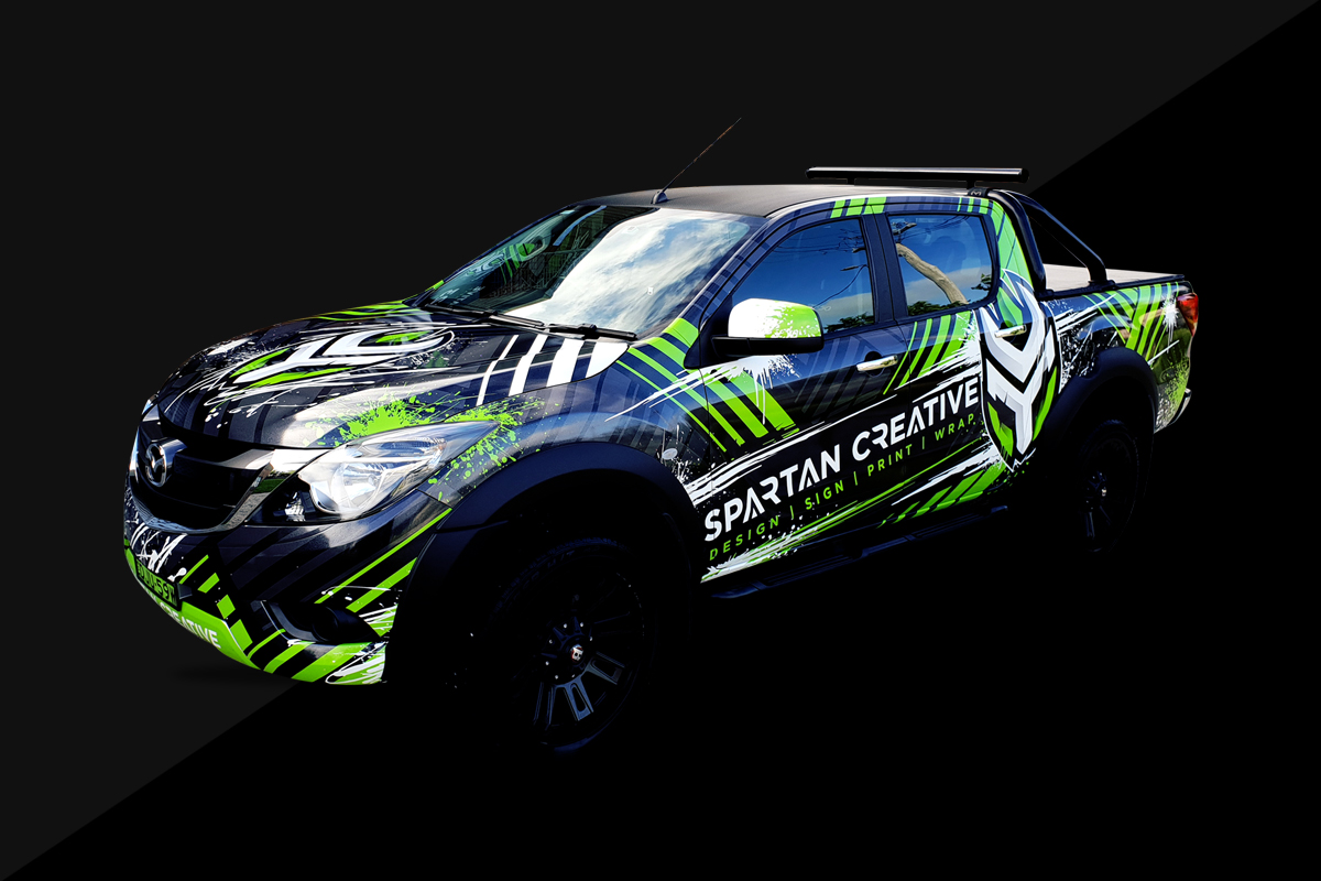 Car Wraps | Spartan Creative | Southern Highlands