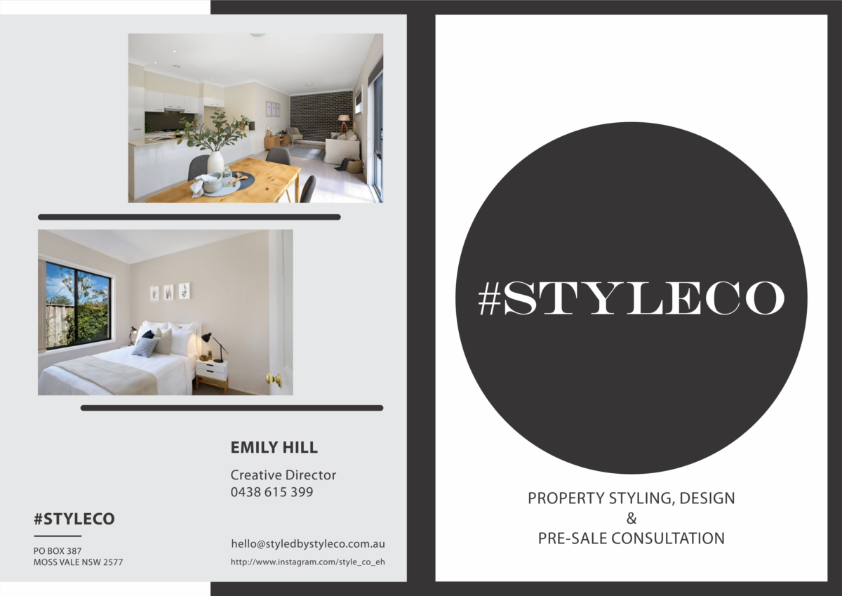 Style Co Flyer - Front and Back Pages